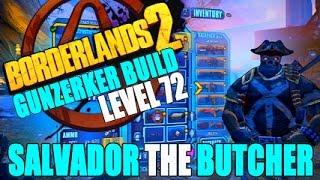 Borderlands  Overpowered Gunzerker Build