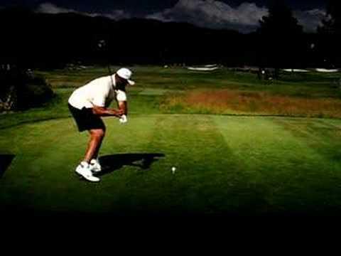 Charles barkley golf swing disaster slow motion youtube