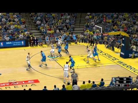 NBA2k14 Mavericks vs Warriors HD