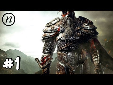 ESO Gameplay: Dark Elf Dragonknight - It Begins!
