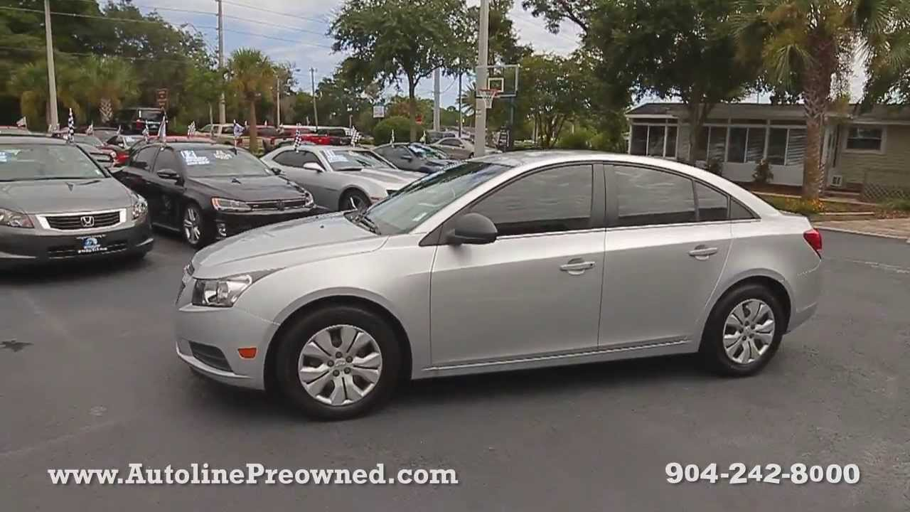 Autoline Preowned 2012 Chevrolet Cruze LS For Sale Used