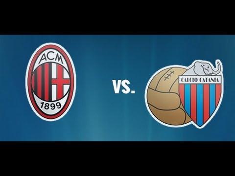 Milan - Catania 13/04/14 GOAL Riccardo Montolivo 1-0
