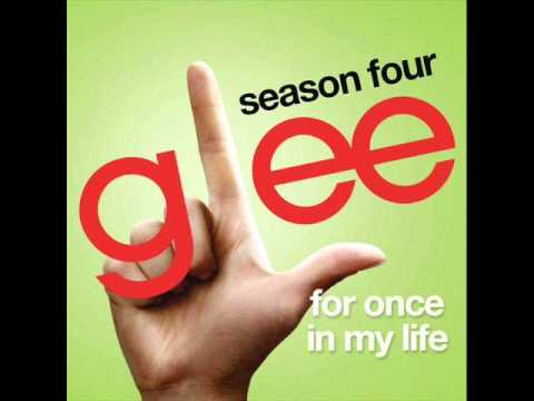 For Once In My Life - Glee (DOWNLOAD)
