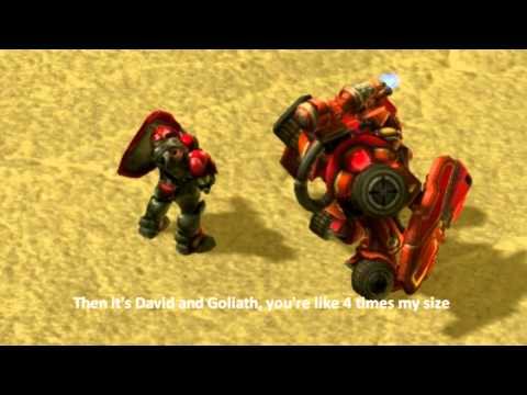 Unit Rap Battles Of Starcraft #1: Marine Vs Hellbat
