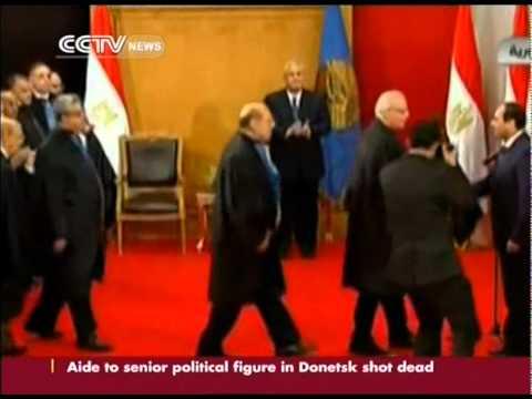 Egypt's new president sworn in