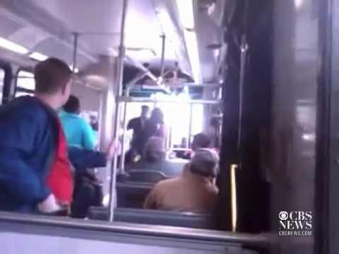 Cleveland Bus Driver Uppercuts Passenger