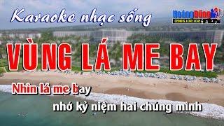 Karaoke Nhạc Sống - Vùng Lá Me Bay - Beat chất lượng cao
