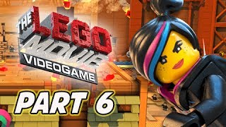 The LEGO Movie Videogame Walkthrough Part 6 - Escape from Flatbush (PS4 XBOX ONE Gameplay)