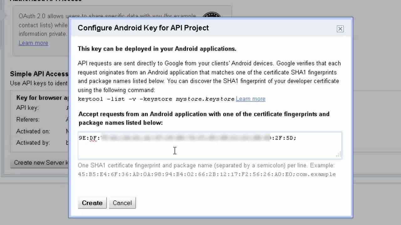 How to setup Google Maps for Android API V2.