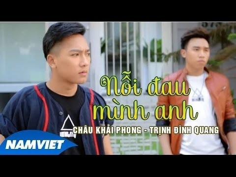 KARAOKE Nỗi Đau Mình Anh - Châu Khải Phong, Trịnh Đình Quang [MV HD OFFICIAL]