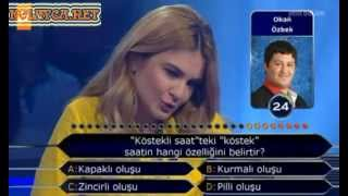 Kim Milyoner Olmak İster Burcu Giray 215 Bölüm 06.05.2013