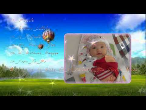 Âm nhạc dành cho Bà Bầu ( Baby từ 4 đến 8 tháng tuổi ) - Video Proshow - D.Pocarua
