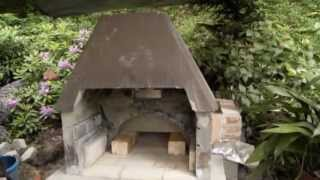 Izdelava Kaminske Krušne Peči-homemade