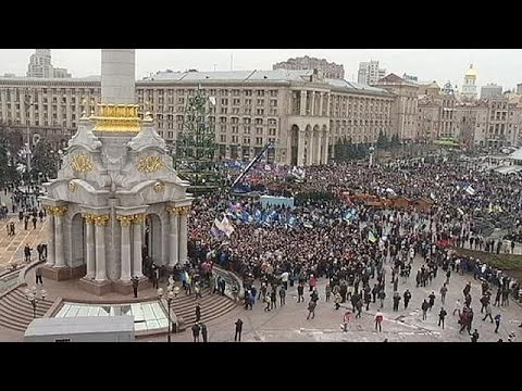 Ukraine protesters tell euronews why they are taking part