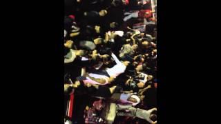 YG Gets Bottled Then Attaks Fans