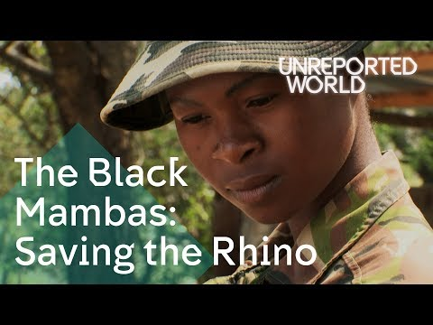 The all-female anti-poaching unit saving the rhino