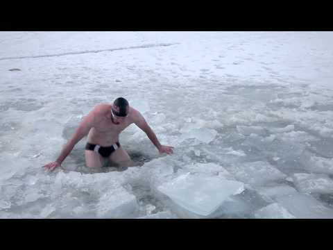 Ice Hole Swimming ...