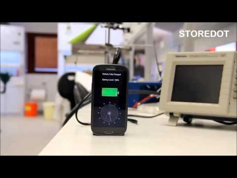 StoreDot : la découverte scientifique derrière la batterie rechargeable en 30 secondes