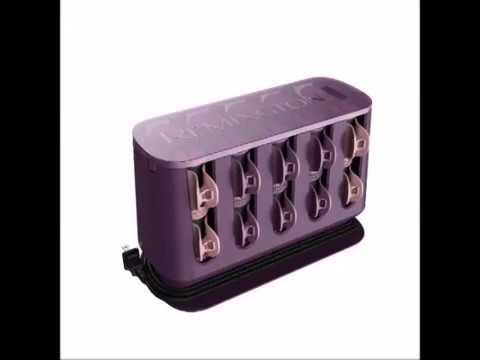 Remington H9100S T Studio Thermaluxe Ceramic Hair Setter, Hair Rollers, 1 1 ¼ Inch, Purple