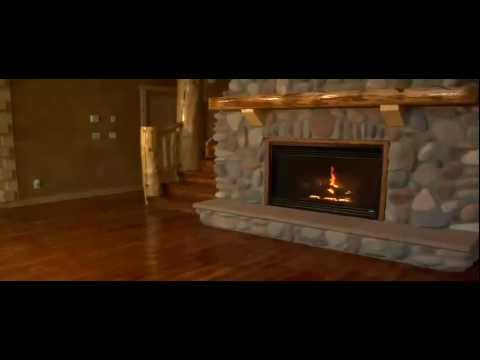 SOLDOTNA REAL ESTATE - KENAI ALASKA LOG HOME - ALASKA LAKE FRONT