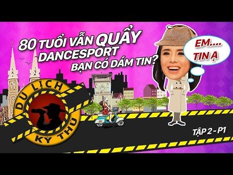 Cụ bà 80 tuổi vẫn nhảy DANCESPORT, bạn có dám tin ???