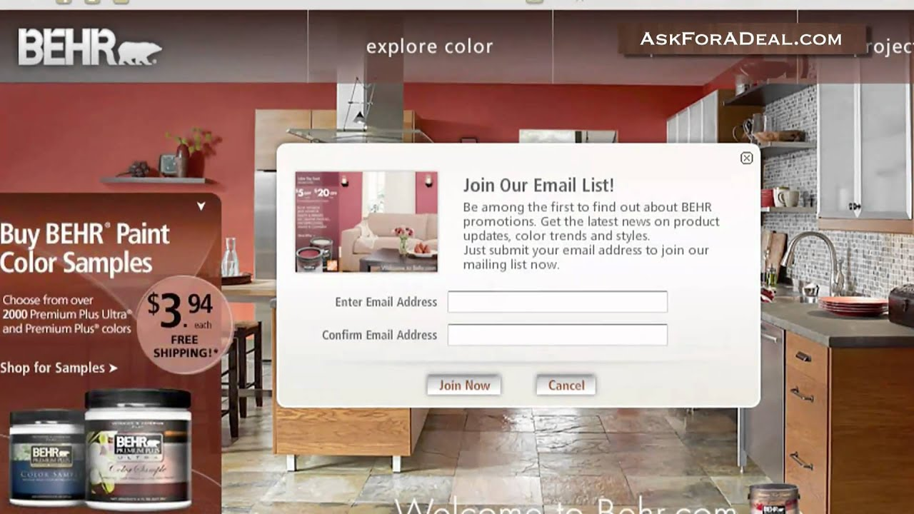 Promo codes 2016 groupon free behr paint coupons printable online behr