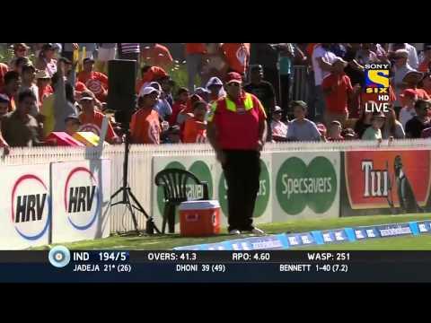 """Sir"" Ravindra Jadeja 62 of 54 Highlights HD Rescues India Again | India vs New zealand 4th ODI"