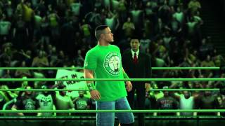 John Cena Makes His Entrance In WWE '13 (Official)