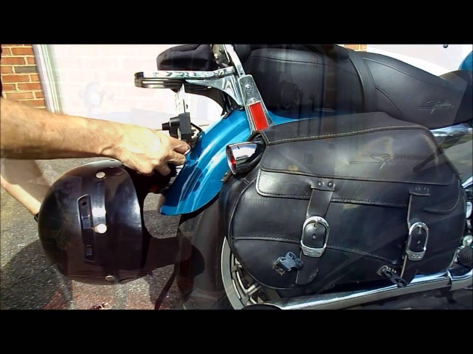 Helmet Lock For Ducati Scrambler