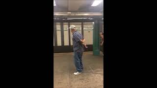 Amazing Subway Singer Michael Young - Singing Unchained Melody