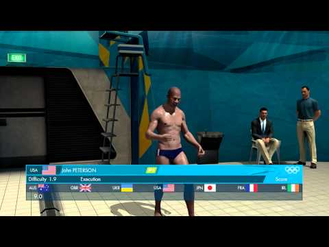 London 2012: The Official Video Game - Men's 3m Springboard