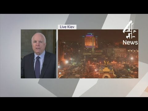 John McCain: Putin sees Crimea as cold war chessboard