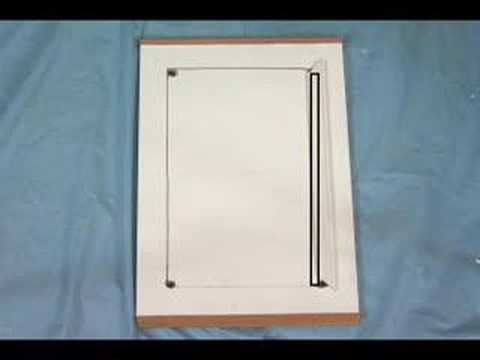 How Do I Install Glass In Cabinet Doors Youtube