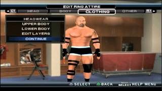 WWE 2K14 GOLDBERG CAW FORMULA PS2 HD
