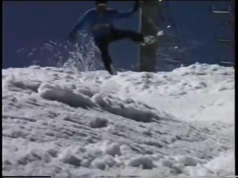 KL - Record di velocità su uno sci solo