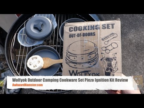 Wolfyok Outdoor Camping Cookware Set Piezo Ignition Kit Review