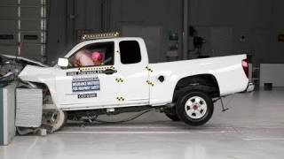 2005 Chevrolet Colorado extended cab moderate overlap test videos