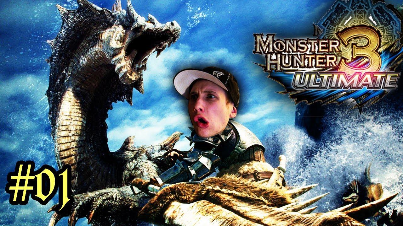 monster hunter spiele