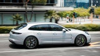 Porsche Panamera Sport Turismo — официальное видео. Видео Тесты Драйв Ру.