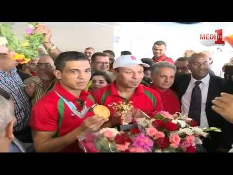 المنتخب المغربي للملاكمة يعود إلى أرض الوطن متوجا بالذهب في وزن 69 كلغ