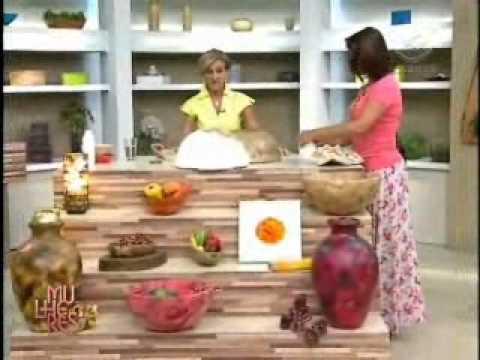 Só Isopor - Rosely Ferraiol ensina a fazer Fruteira [Pt. 02]