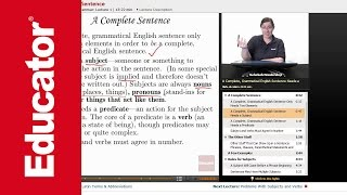 """The Essential Sentence"" 