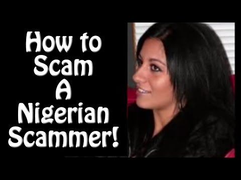 Have a laugh while I mess with this Nigerian Scammer!
