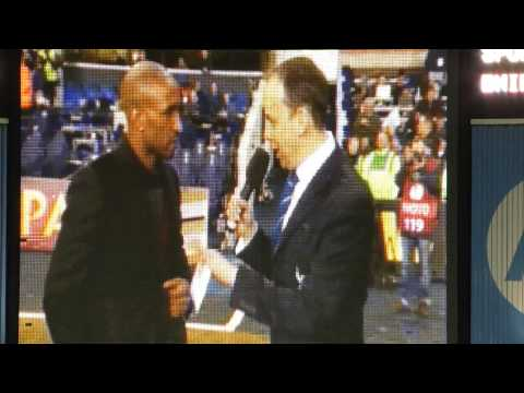 Jermain Defoe Farewell: JD's interview with Paul Coyte during half time of Spurs vs FC Dnipro match