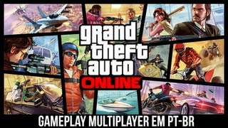 GTA 5 Gameplay Multiplayer Online DUBLADO Grand Theft