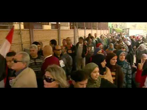 Egypt referendum: Voting under way amid tight security