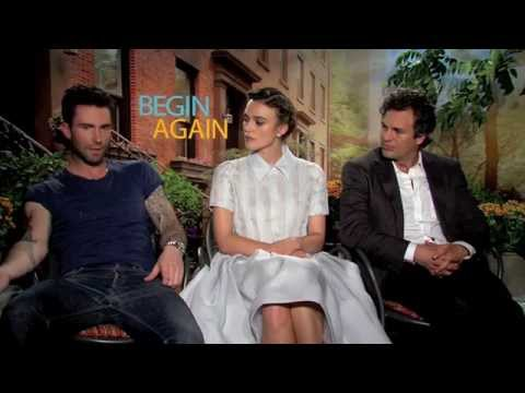 Adam Levine, Keira Knightley & Mark Ruffalo: BEGIN AGAIN
