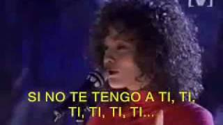 Whitney Houston I Have Nothing Subtitulado Español