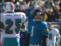 Jaguars DESTROY Dolphins, 62-7 in 99 Playoffs