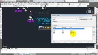 Buscar Texto En AutoCAD